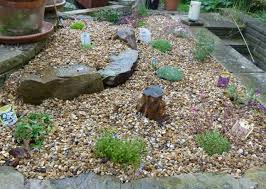 Pebbles And Rocks Garden Our Plot At Green Allotments Pebble Garden