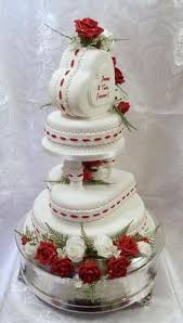 heart wedding cake s day wedding cake with and white hearts and roses