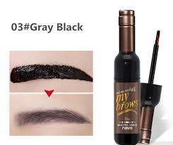 natural eyebrow gel makeup waterproof brown red wine eye brow