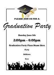 templates for graduation announcements free free graduation announcement template graduation party invitation