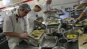 apprendre la cuisine ou le service en alternance
