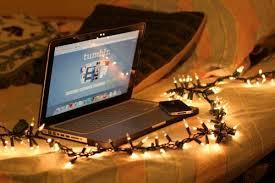 christmas lights iphone room bed gift apple macbook macbook pro