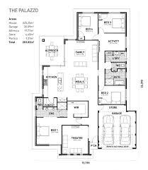 Palazzo Floor Plan The Palazzo Ideal Homes