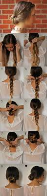 diy hairstyles in 5 minutes 35 best 5 minute hairstyles the goddess