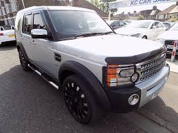 silver land rover discovery used land rover discovery 3 cars for sale in rayleigh essex