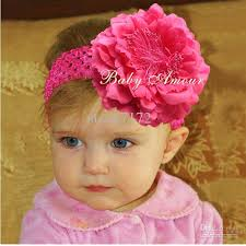 baby hair band hot sale girl s hairband flower headbands peony baby hairbands