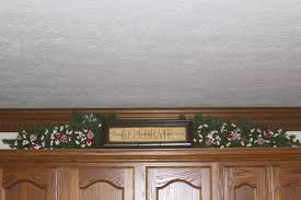 Above Kitchen Cabinet Kitchen Christmas Decorations The Enchanted Manor Throughout