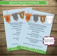 baby shower invitations sports theme afoodaffair me