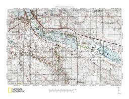 Minnesota Topographic Map Big Sioux River Minnesota River Drainage Divide Area Landform