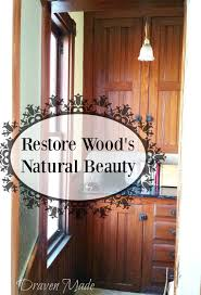 how to recondition wood cabinets how to clean restore wood with one product living in