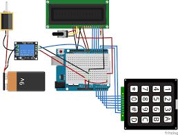 arduino keyless door lock system with keypad and lcd diy hacking