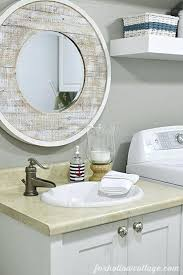 nautical mirror bathroom nautical bathroom mirrors most creative beach themed bathroom
