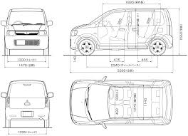 mitsubishi ek wagon mitsubishi ek blueprint download free blueprint for 3d modeling
