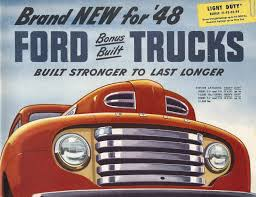 Old Ford Truck Brochures - cars