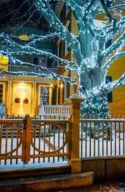 Outdoor Christmas Light Ideas Top 46 Outdoor Christmas Lighting Ideas Illuminate The Holiday