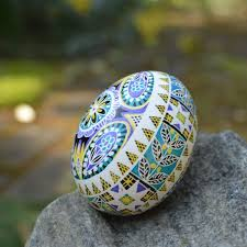 egg decorating supplies new patters pysanka with flowers in blue and black beautiful