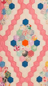 flower garden quilt pattern 111 best hexis images on pinterest addiction cubes and curtains