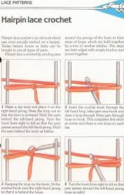 hairpin lace loom 17 beste ideeën haarspeld kant gehaakt op