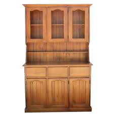 Small Shelves For Kitchen Furniture Espresso Wood Buffet Hutch With Glass Shelf For Home