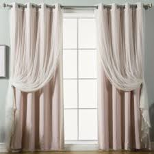 Petal Pink Curtains Petal Pink Curtains Wayfair