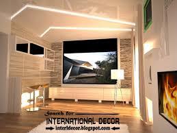 Modern Pop False Ceiling Designs Ideas  For Living Room - Modern ceiling designs for living room
