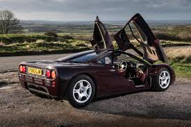 rare supercars mclaren f1 rare burgundy sold june 2015 cars