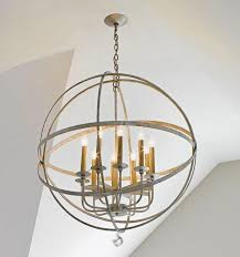 Crystal Sphere Chandelier Crystal Drop Large Lemonde Sphere Chandelier 8 Finishes Available