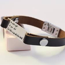 Personalized Bangles Aliexpress Com Buy Customized Personalized Bracelet Men Leather