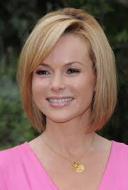 simple short bob hairstyles for straight hair for mature women