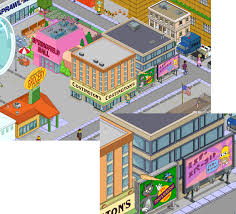 Simpsons Floor Plan Simple Town Designs It U0027s All About Perspectivethe Simpsons Tapped