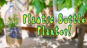 how to make plastic bottle planters smart life hacks youtube