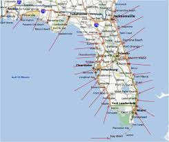 Palm Beach Map Popular 206 List Map Of Florida Beaches