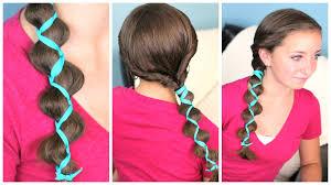 easy hairstyles not braids ribbon accent loony braid cute braid ideas youtube