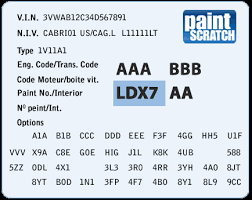 volkswagen touch up paint color code and directions for