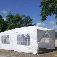 10 X 20 Shade Canopy by X 20 White Party Tent Canopy Gazebo