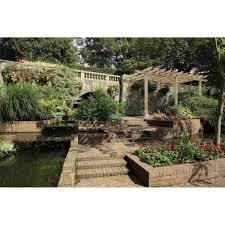 grange burleston lean to carport pergola garden street