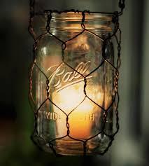 mason jar hanging wire basket home decor u0026 lighting