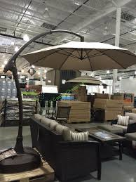 Retractable Awnings Costco Proshade 11 U2032 Parasol Cantilever Umbrella Costco Beautiful