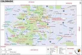 colorado map map of colorado usa co map