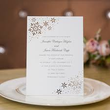snowflakes laser cut wedding invitations efws026 as low as 1 35