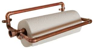 paper towel holder copper industrial paper towel holders by