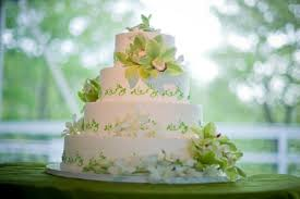 wedding cake green wedding cakes pictures green orchid wedding cakes