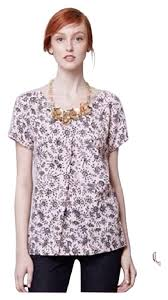 pleated blouse anthropologie pink portrait of a pleated blouse size 0 xs
