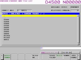 ftp server software for ethernet connection on fanuc 16i 18i