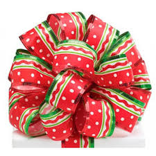 wired christmas ribbon christmas ribbons bows