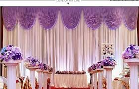 wedding backdrop to buy aliexpress buy hot sale wedding backdrop curtain high