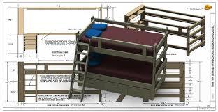 Bunk Bed Drawing Bunk Bed 20 060 3d Cad Model Library Grabcad
