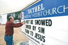 church signs balance bible verses clever sayings reach