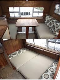 Folding Cushions Bench Rv Bench Seat Majestic Lifes An Adventure Motorhome