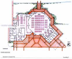 floor plan of cafeteria chiefess kamakahelei middle designshare projects
